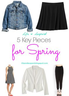 5 Key Pieces for Spring: The Flippy Skirt>>See how to style and where to buy this must-have piece for spring!  #fashion #style #spring #wardrobe #skirt