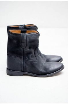 Isabel Marant Black Crisi Boot | $790