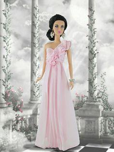 Pink Chiffon Barbie