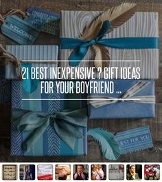 30 Best #Inexpensive  Gift Ideas for Your Boyfriend ... - #Lifestyle