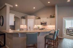 The Vintage by Hayden Homes - Kitchen - the Vintage offers 3 bedrooms and 2.5 bathrooms with 2,610 sq. feet.