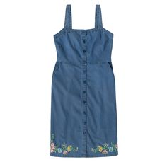 Embroidered Chambray Dress | View All | CathKidston