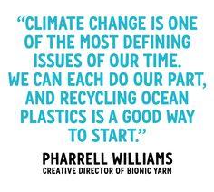 Denim from recycled ocean plastic