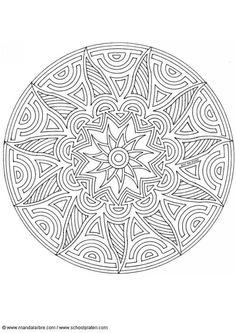 Coloring page mandala-1702q