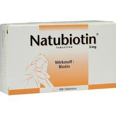NATUBIOTIN Tabletten:   Packungsinhalt: 100 St Tabletten PZN: 02822640 Hersteller: Rodisma-Med Pharma GmbH Preis: 15,52 EUR inkl. 19 %…