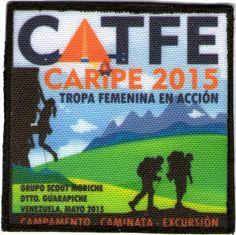 Campamento de Tropa Femenina 2015 Moriche. Diseñada por Johanna Diaz
