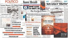 Newspapers on Terror Report