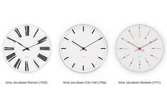 Post: Relojes y despertadores Arne Jacobsen de Rosendahl Copenhagen --> accesorios hogar diseño, artículos lujo, diseño danés, diseño escandinavo, diseño nórdico, estilo escandinavo, relojes de diseño, Relojes y despertadores Arne Jacobsen, Rosendahl Copenhagen, luxury, danish design, nordic design, scandinavian design, home decor, reloj de cocina, reloj de diseño, dinamarca