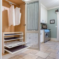 Traditional Laundry Room by Louis L'artisan