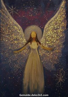 Move Through the World With Gentle Strength — Original Angel Painting Healing Energy by Breten. Angel Images, Angel Pictures, Art Pictures, Angel 444, Angel Artwork, Christmas Paintings On Canvas, Art Plastique, Acrylic Art, Christmas Pictures