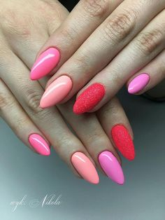 Miami Gel Polish Collection 2017 by Natalia Siwiec Los Flamingos Sugarmama Is It Pamela + Neonowa Syrenka Miss America by Nikola Hand Made Kinga Kryńska #nails #nail #nailart #indigonails #miami #summernails #springnail #pastelnails #indigo #pinknail #mermaideffect #mermaid