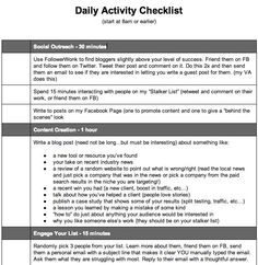 How to Stay Focused with a Daily Activity Checklist Daily Task, Content Marketing Strategy, Daily Activities, Stay Focused, Boss, Internet, Everyday Activities