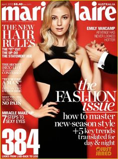 Emily VanCamp – Marie Claire Australia Magazine (April 2013)