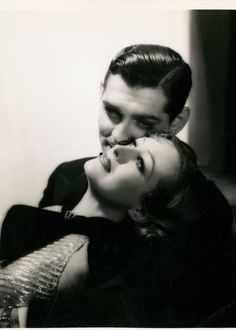 Joan Crawford and Clark Gable in Dancing Lady Photo by George Hurrell