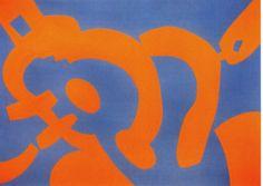Orange, 2005, Carla Accardi