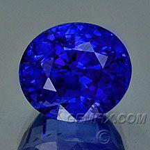 Blue Sapphire, American Cut