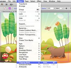 Quick Tip: Four Ways to Crop a Vector Illustration in Adobe Illustrator By Cheryl Graham,