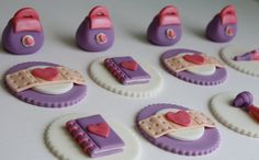 Toy Doctor Fondant Cupcake Toppers