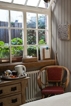 Garden Room. Swan House Bed and Breakfast. Hastings, East Sussex. UK