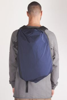 Cote et Ciel - Isar twin touch memory rucksack in midnight blue // AW15 // Shop at Sprmrkt Amsterdam