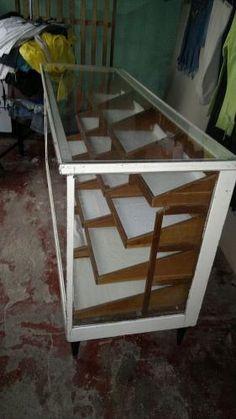Mueble Antiguo De Merceria
