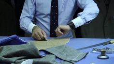 """Cifonelli - """"Cifonelli's shoulder cut"""" by www.high-toned.fr. I had the pleasure to visit one of the French finest Bespoke tailor called """"Cifonelli""""."""