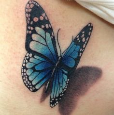 ✽✽✽3D Tattoo Schmetterling✽✽✽
