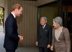 Emperor Akihito Photos: Prince William Visits Japan: Day 2