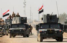 Pasukan Irak Sapu IS dari Perbatasan al Waleed : Militer Irak pada Sabtu (17/6/2017) mengatakan bahwa pasukannya dan para petempur Sunni sukses menyingkirkan IS dari perbatasan al Waleed yang menghubungkan dengan Sur