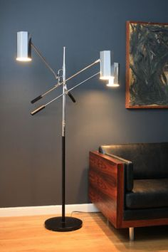 Midcentury lamp #midcentury #retro #lighting