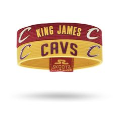 Shop for Cleveland Cavaliers NBA wristbands and fan gear. Find your teams NBA bracelets and gear today! http://www.skootz.com/