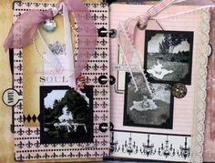 CHerInspirations: Teresa Collins Designs - My Notations album part 2 of 3