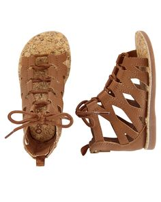 OshKosh Gladiator Sandals  Love it! checkout www.sweetpeadeals.com for more baby clothes and Items up to 80% OFF!