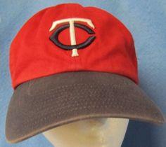 585f948420b Minnesota Twins Red Retro Throwback Hat Twins Enterprises Adjustable   TwinsEnterprisesInc  MinnesotaTwins  retro  baseballcaps  eBay