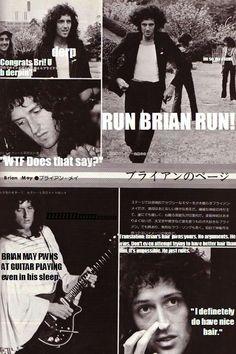 I love Brian's hair!