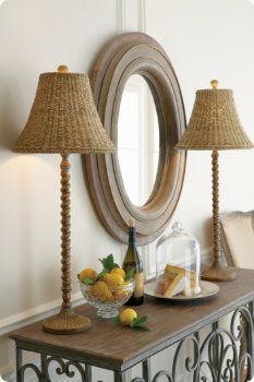 Indies Buffet Lamp
