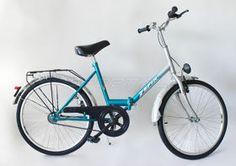 """#Rower #ZEFIR 24"""" srebrno-zielony #składak"""