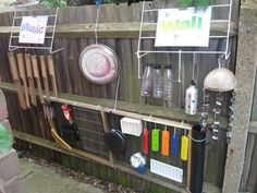 let the children play: music play great ideas for outdoor music making