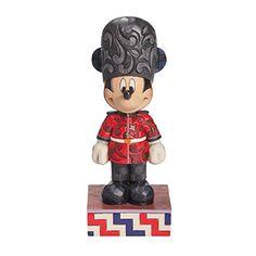 Enesco Disney Traditions - Figurina de Mickey Inglés, resina, 16,5 cm