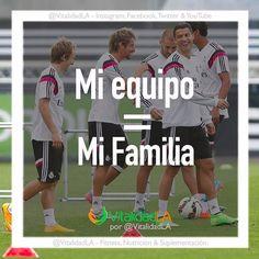 Todos los que entrenan en un deporte de equipo saben la importancia de esta frase!!