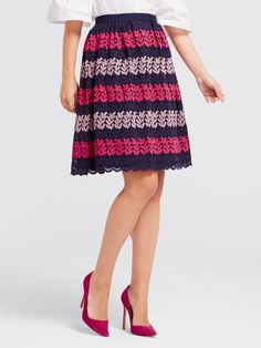 Draper James - Ivy Lace Skirt