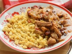 Macaroni And Cheese, Bacon, Vitamins, Protein, Meals, Chicken, Cooking, Ethnic Recipes, Cook Books