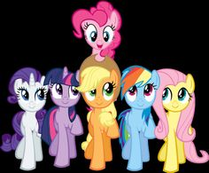 Pinkie Pie and Friends SMILE! (The Mane 6)