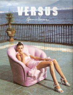 Versus 1995 - Trish Goff by Bruce Weber