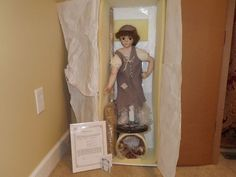 Welden Museum Porcelain Doll Les Miserables Little Cosette by Helen Carr | eBay  --  Some day I will have a daughter ad she will have this doll.  lol.  Some. Day.