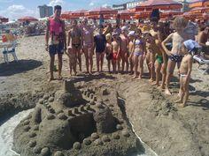 Castelli di Sabbia per il MiniClubMarilena