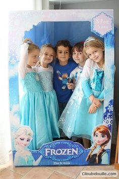 Jeux Reine des Neiges et photocall pour activité d'anniversaire reine des neiges Birthday Wall, Frozen Themed Birthday Party, Frozen Party, 7th Birthday, Birthday Party Decorations, Disney Princess Art, Happy B Day, Host A Party, Party Time