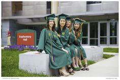 We went to George Mason University in Fairfax, Virginia, for a graduation portrait session.