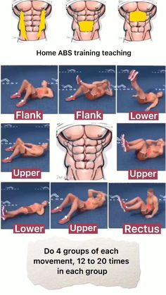 Abs And Cardio Workout, Gym Workouts For Men, Gym Workout Chart, Oblique Workout, Abs Workout Video, Gym Workout Tips, Ab Workout At Home, Daily Exercise, Home Exercise Routines