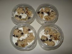 Dupe for Ben & Jerry's chocolate chip cookie dough ice cream ....make 4 pints for the cost of just one !
